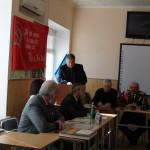 Выступление военкома г.Туапсе полковника зап. Г.С Аведисяна