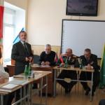 Выступление руководителя Мужество Руденко Г.Г