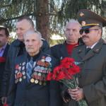 В центре ветеран ВОВ Иван Маховкин