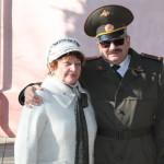 Слева председатель Совета ВОВ п.Шепси Туапсинский р-н Малова Н
