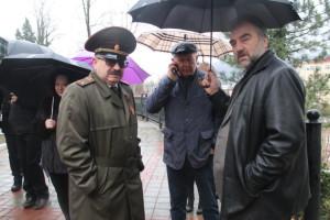 Глава г Туапсе Чехов А.В. решает  вопрос по деятельности тира