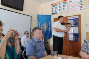 С приветственным словом прибыл Зам. главы Туапсинского р-на Ачмизов А. Р.
